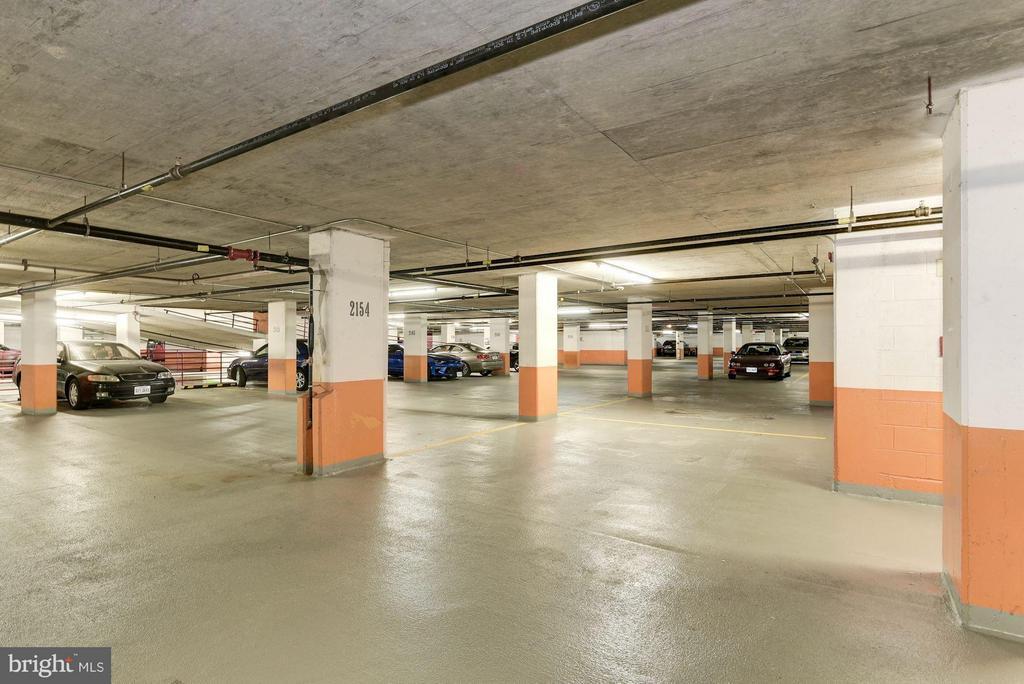 Massive parking spot (2 spots convey) - 1276 WAYNE ST #1221, ARLINGTON
