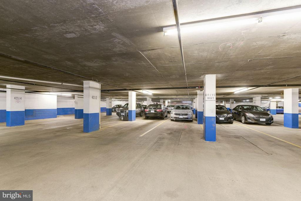 Second parking spot (2 spots convey) - 1276 WAYNE ST #1221, ARLINGTON