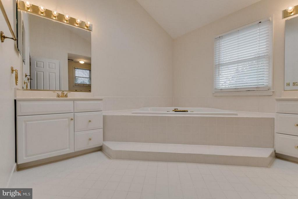 Bath master, jetted tub, separate sinks - 20000 GIANTSTEP TER, MONTGOMERY VILLAGE