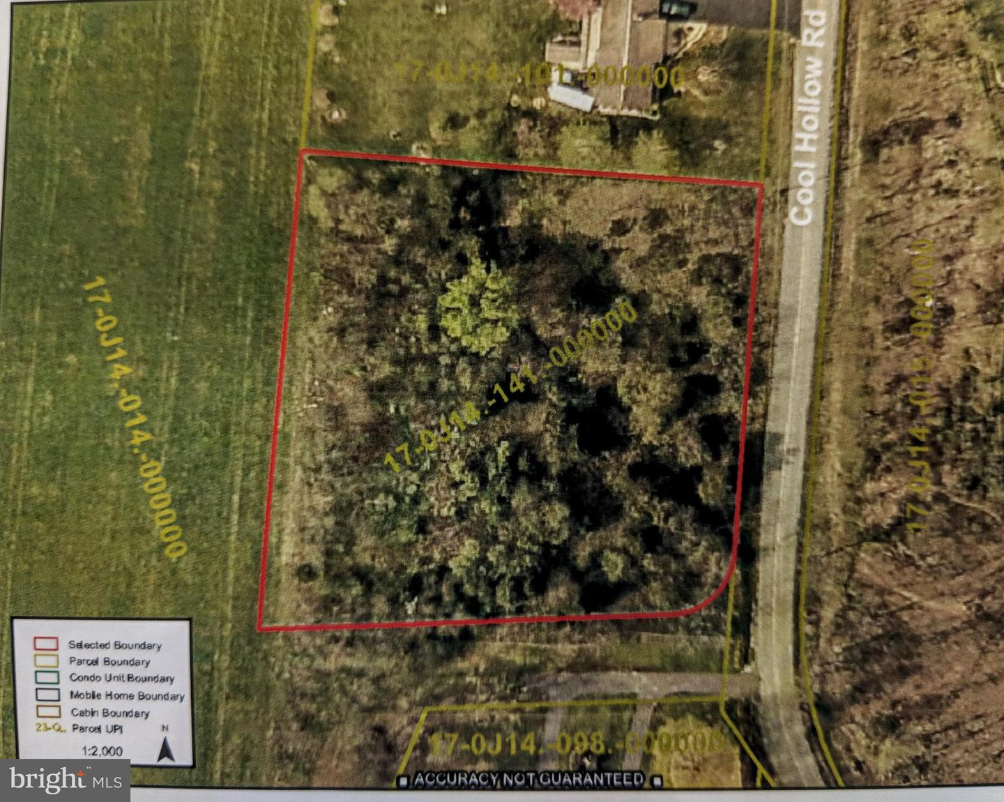 Land for Sale at Cool Hollow Rd Greencastle, Pennsylvania 17225 United States