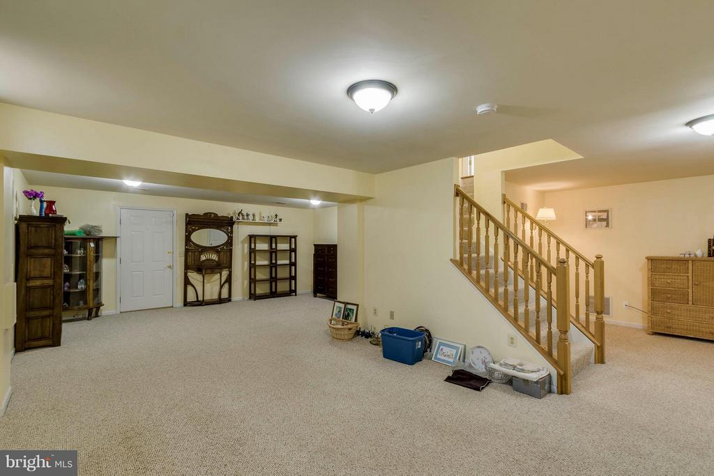 Basement - 20662 ASHLEAF CT, STERLING
