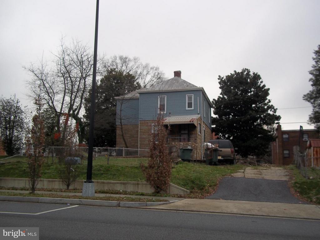 Rear view of home- Nannie Helen Burroughs Ave NE - 5818 FIELD PL NE, WASHINGTON