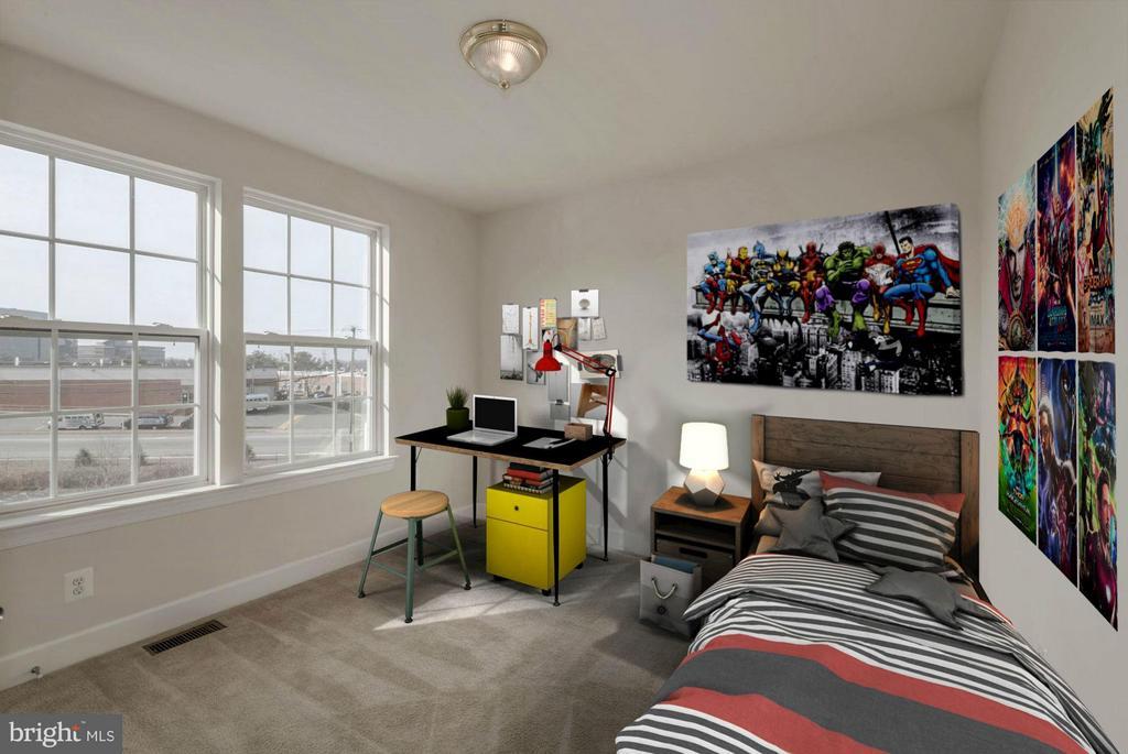 Bedroom #2 (1of 2) - 6206 ROYAL CREST LN, ALEXANDRIA