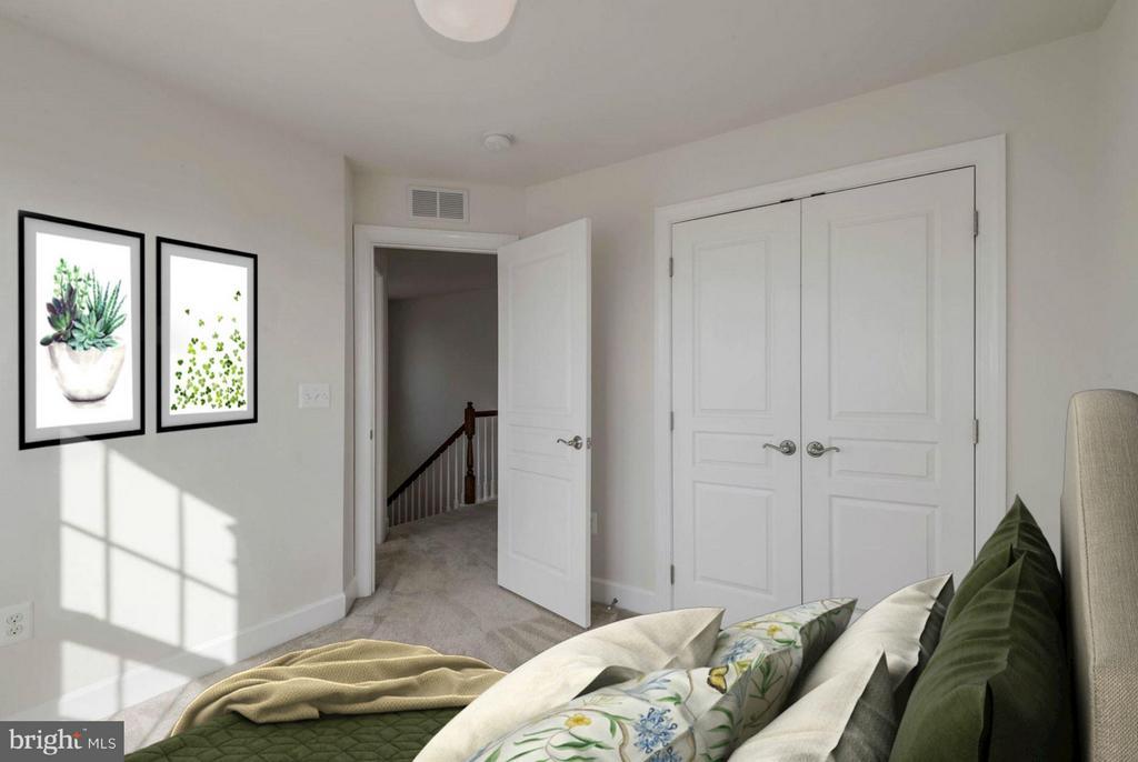 Bedroom #3 (2 of 2) - 6206 ROYAL CREST LN, ALEXANDRIA