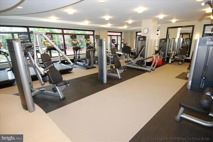 Fitness Center - 7710 WOODMONT AVE #1207, BETHESDA