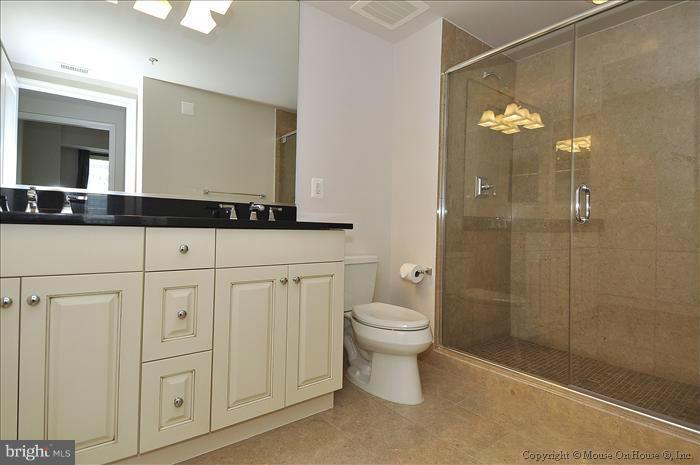 Master Bathroom - 7710 WOODMONT AVE #1207, BETHESDA