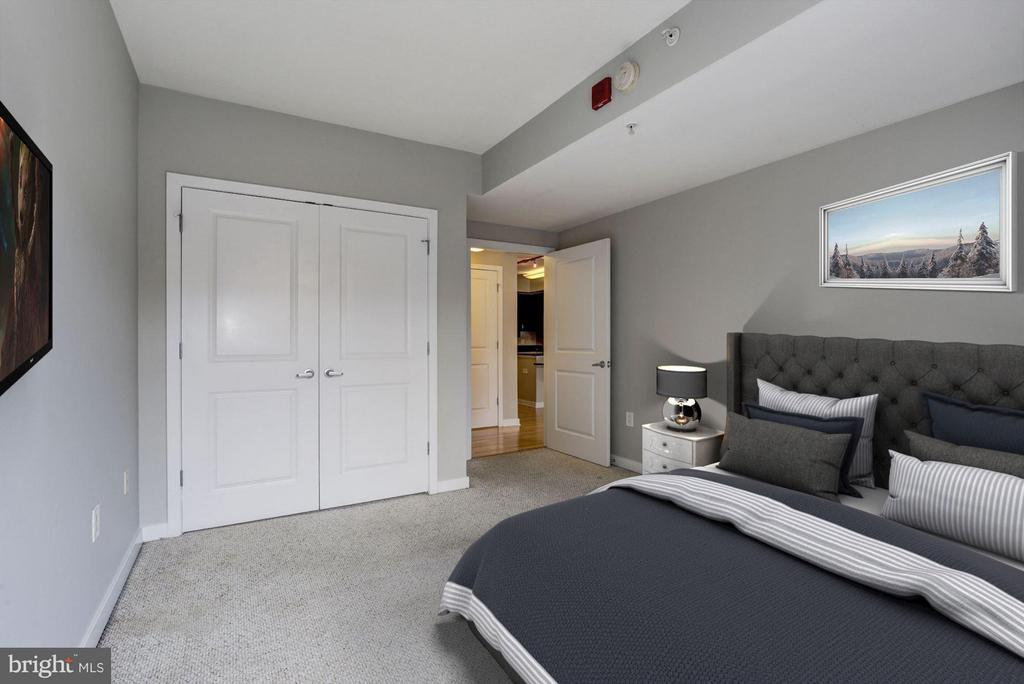 Bedroom (3 of 3) - 475 K ST NW #505, WASHINGTON