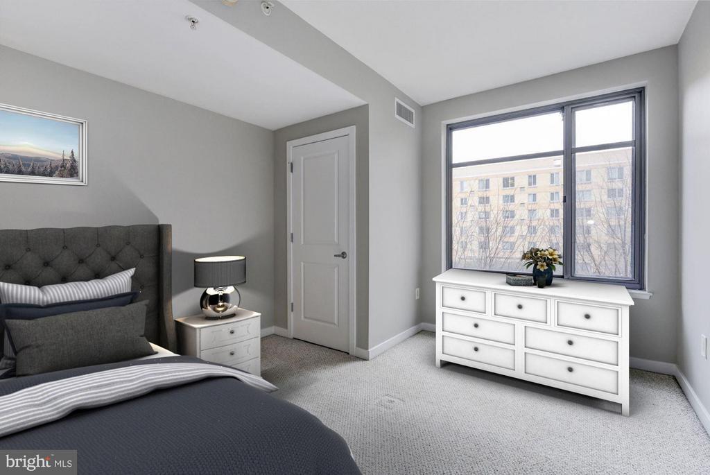 Bedroom (1 of 3) - 475 K ST NW #505, WASHINGTON