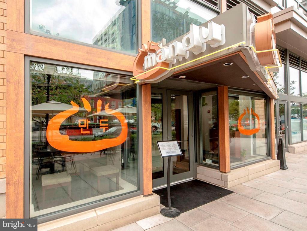 CityVista's Retail includes Mandu - 475 K ST NW #505, WASHINGTON
