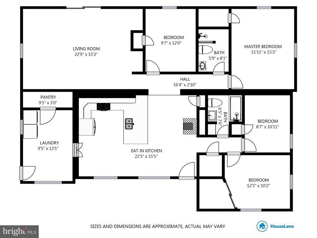 Floor Plans - 4017 COLONIAL AVE, ALEXANDRIA