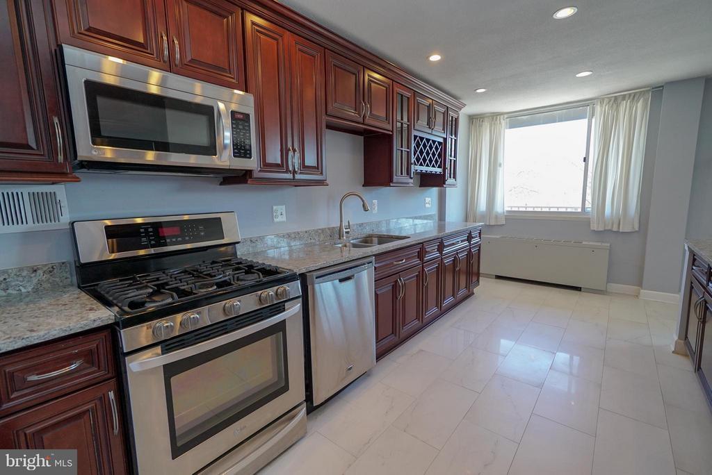 Gourmet kitchen - 4343 LEE HWY #203, ARLINGTON
