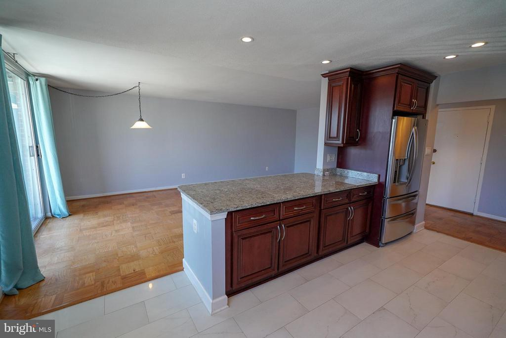 Opens to the dining and living room - 4343 LEE HWY #203, ARLINGTON