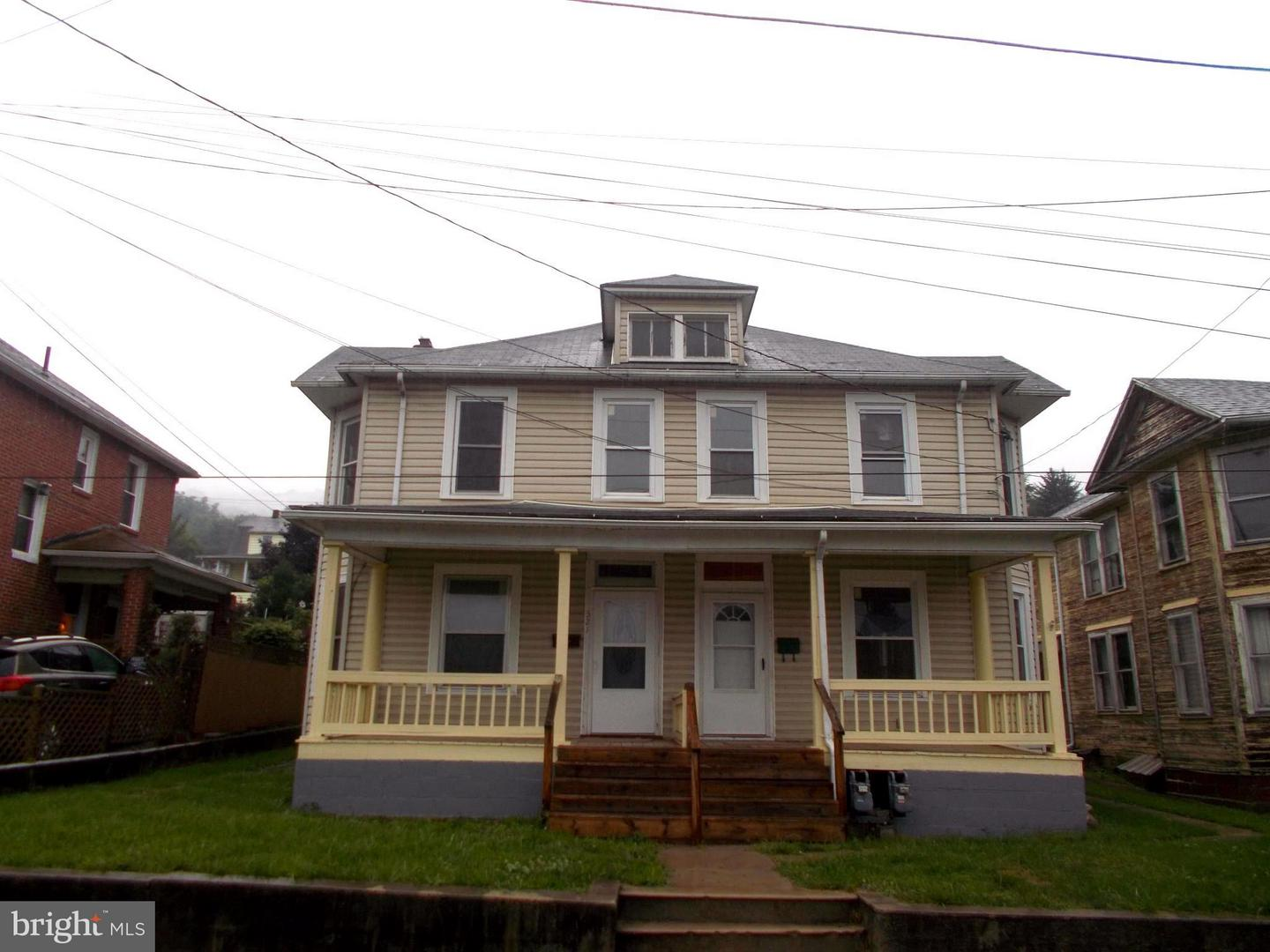 Single Family for Sale at 321 Vine St #321 Westernport, Maryland 21562 United States
