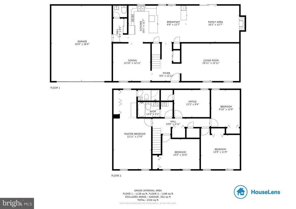 2285 Dosinia Ct Reston Floor Plan - 2285 DOSINIA CT, RESTON