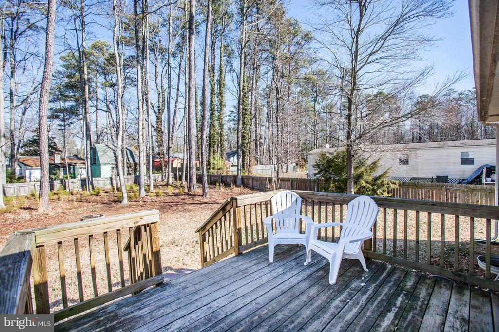 Relax On The Deck - 104 GREENWAY DR, COLONIAL BEACH