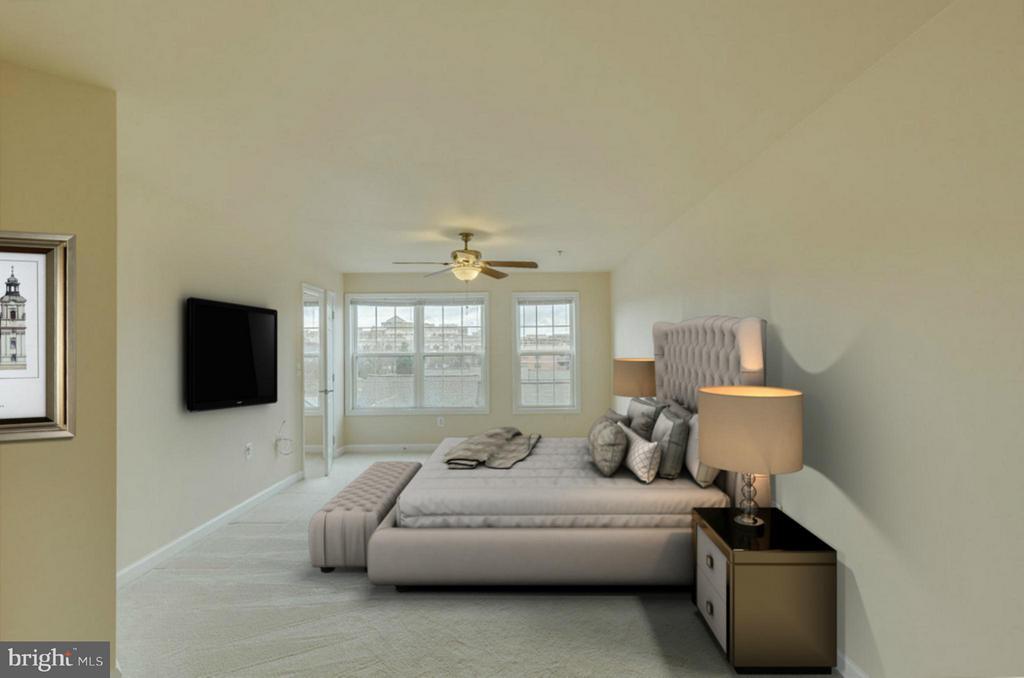 Master Suite w/ two walk-in closets - 1321 ADAMS CT N #402, ARLINGTON