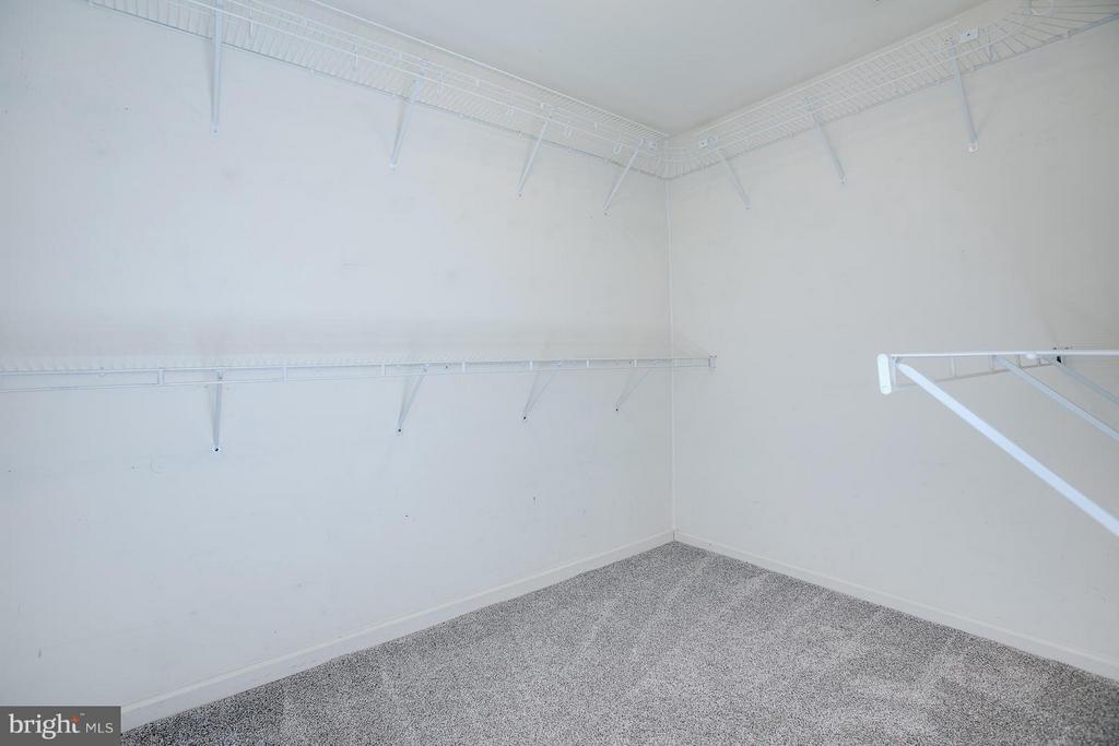 Large walk in closet with plenty of hanging space - 4540 PAPILLION CT, FREDERICKSBURG