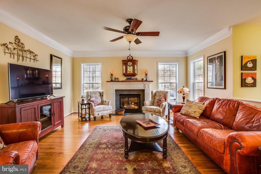 Cozy gas fireplace & beautiful hardwoods. - 6 GARNER DR, FREDERICKSBURG