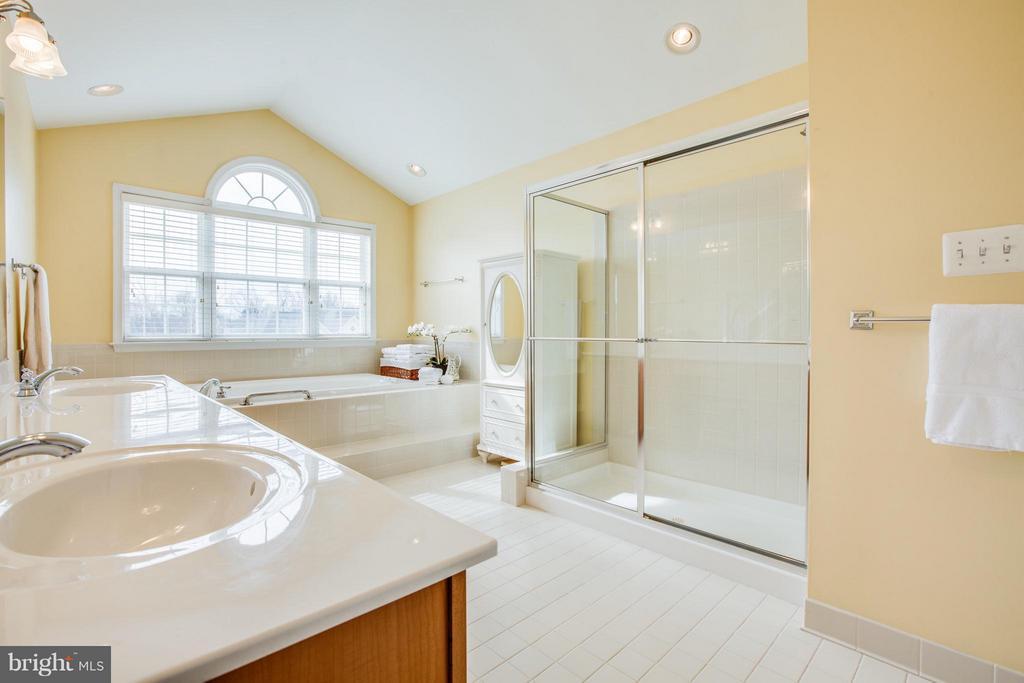 Natural light in master bathroom - 6 GARNER DR, FREDERICKSBURG
