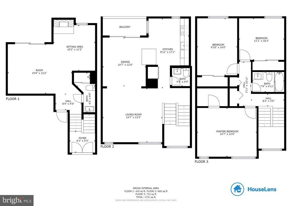 Floor Plan - 7836 MARCONI CT, SPRINGFIELD
