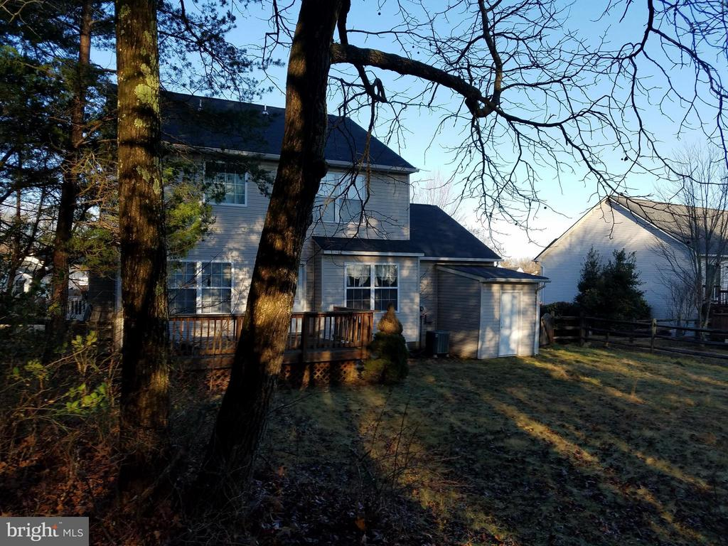Exterior (Rear) - 2416 RUFFIN DR, FREDERICKSBURG