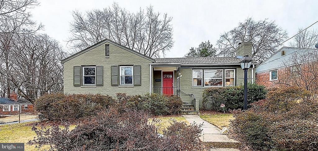 Exterior (Front) - 407 HINSDALE CT, SILVER SPRING
