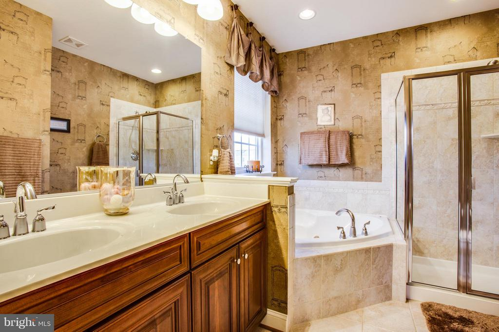 Bath (Master) Jetted tub and separate shower - 35115 SOMERSET RIDGE RD, LOCUST GROVE