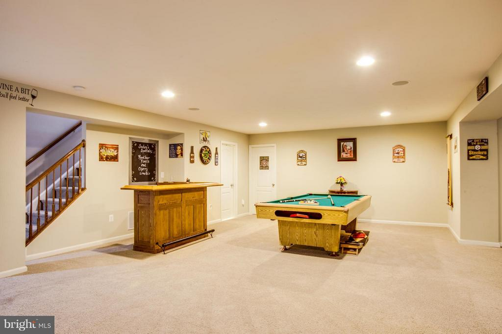 Basement with bar - 35115 SOMERSET RIDGE RD, LOCUST GROVE