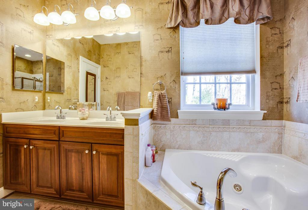 Bath (Master) jetted tub and double vanities - 35115 SOMERSET RIDGE RD, LOCUST GROVE
