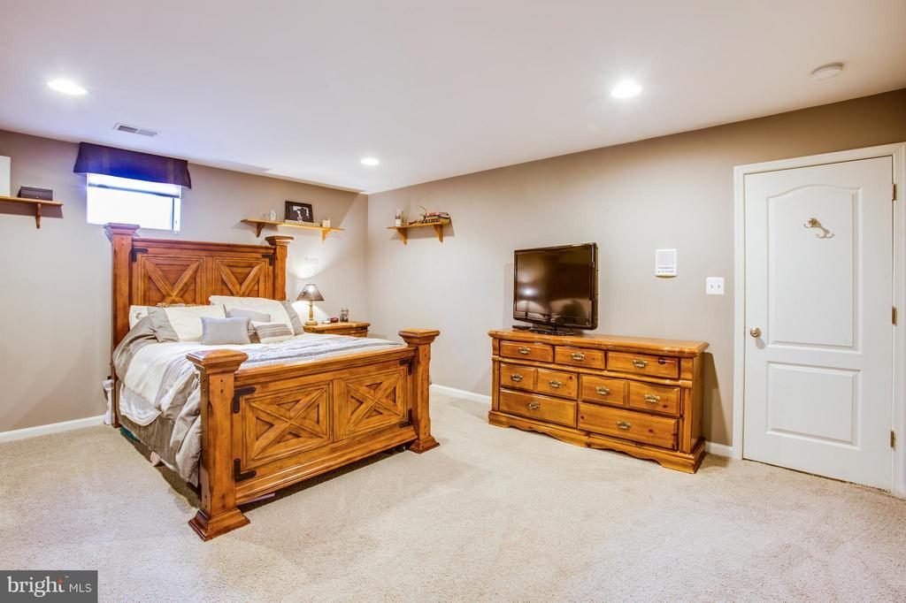 Spacious 4th bedroom in basement - 35115 SOMERSET RIDGE RD, LOCUST GROVE