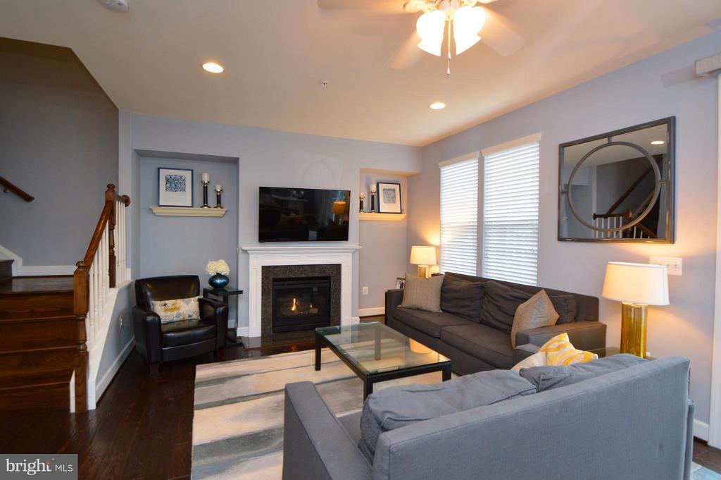 Living Room - 10706 CAMERON GLEN DR, FAIRFAX