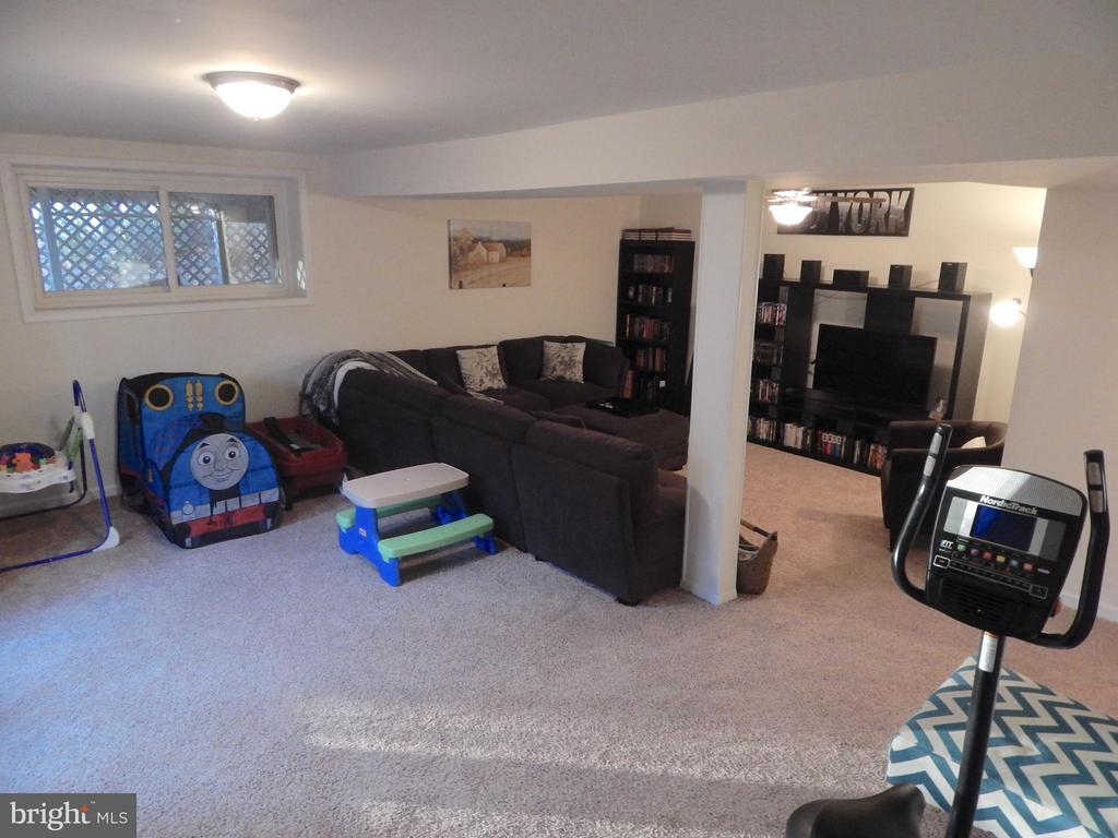 Spacious Family Room has a Walkout Exit - 1309 EASTOVER PKWY, LOCUST GROVE