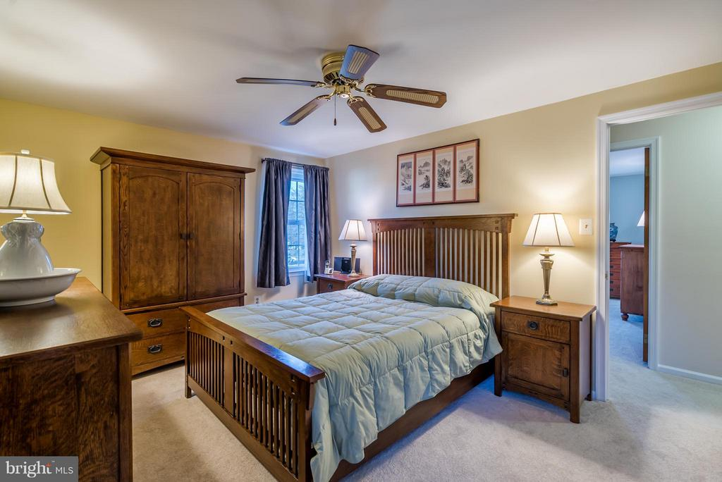 Master Bedroom with Walk-in Closet - 9304 BURNETTA DR, FAIRFAX
