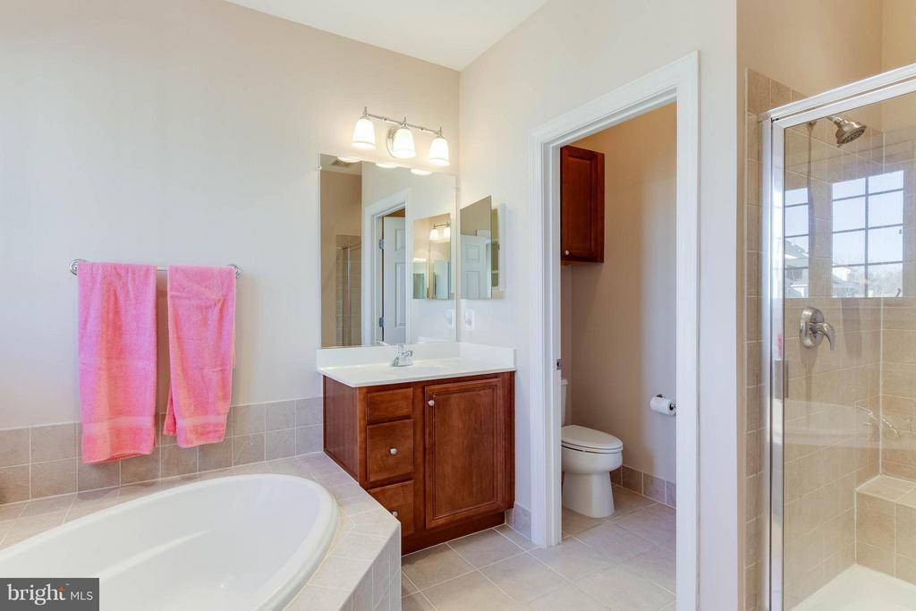 Notice separate tub, shower, and water closet - 131 FORTNIGHTLY BLVD, HERNDON
