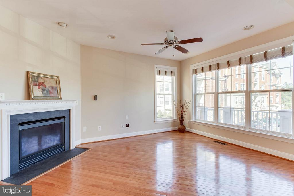 Living Room - 131 FORTNIGHTLY BLVD, HERNDON