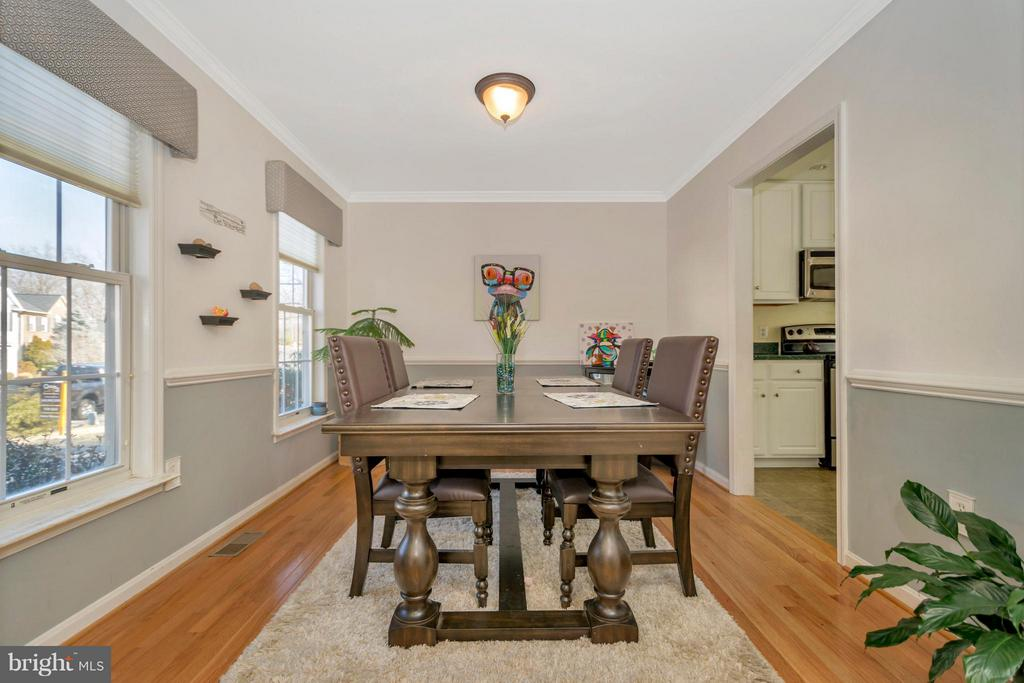 Dining Room - 3806 FALLWOOD LN, FREDERICKSBURG