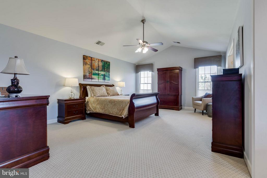 Master Bedroom with Cathedral Ceilings - 22752 PORTICO PL, ASHBURN