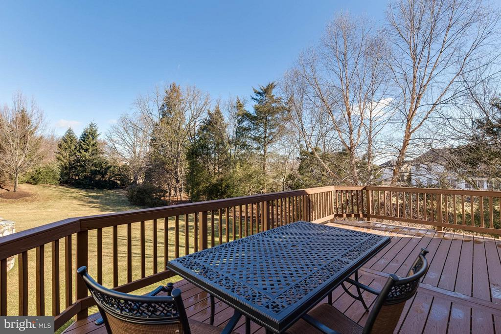 Newly Updated Deck - 22752 PORTICO PL, ASHBURN