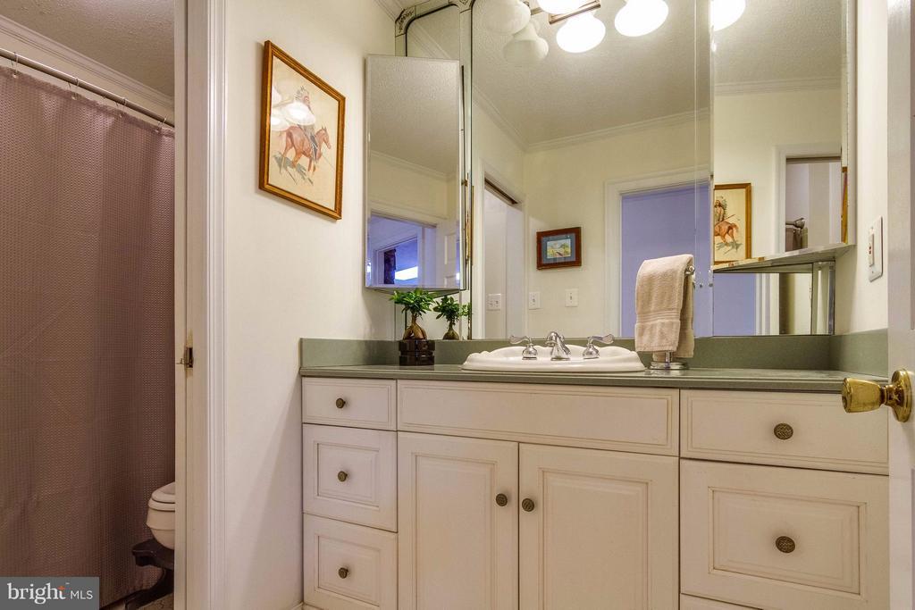 Bath #2 on main level - 18348 SHARON RD, TRIANGLE