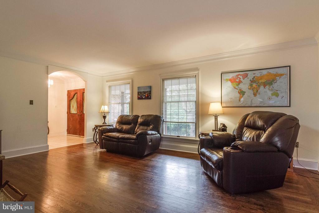 Family room - 18348 SHARON RD, TRIANGLE