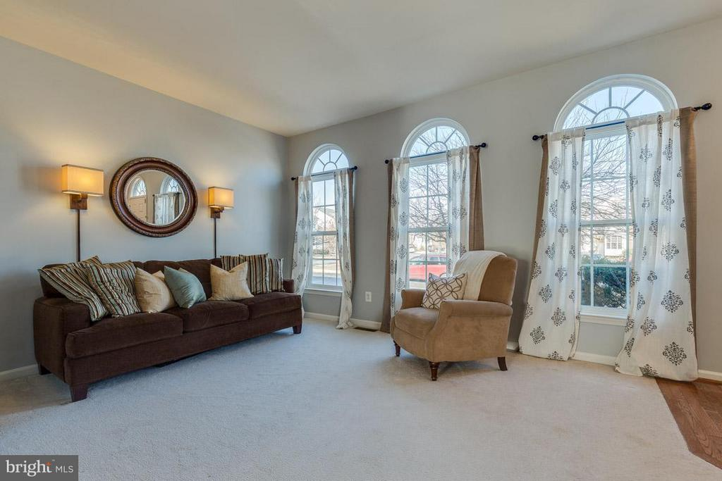 Living Room - sunny and bright! - 419 RUSERT DR SE, LEESBURG