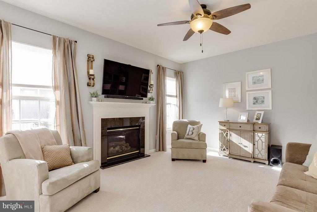 Beautiful light-filled family room! - 419 RUSERT DR SE, LEESBURG