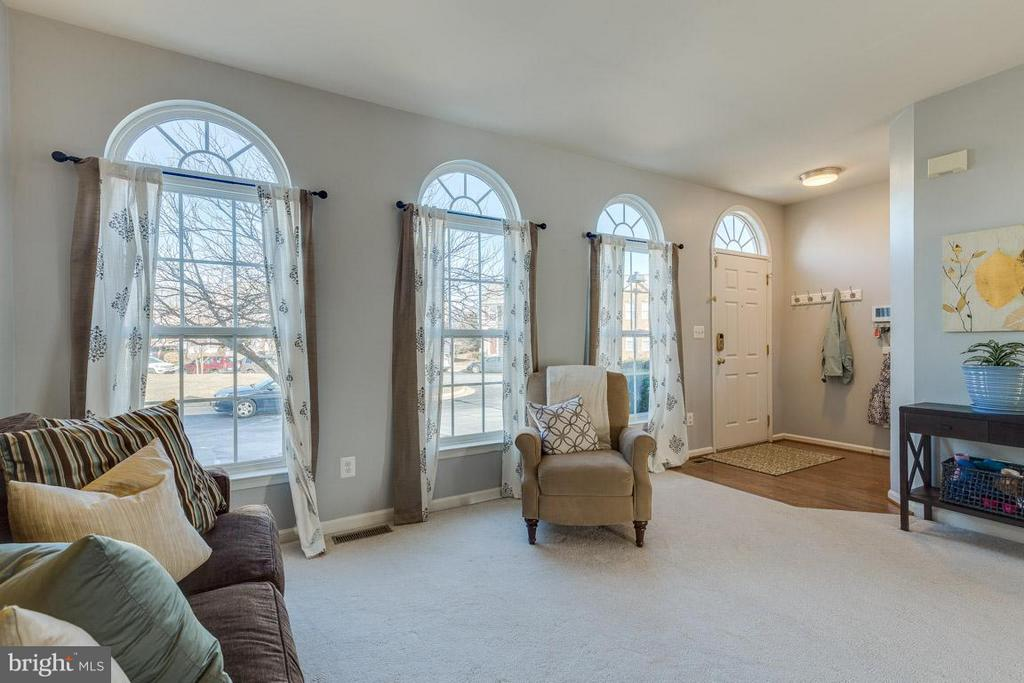 Enter into the foyer which opens up to living room - 419 RUSERT DR SE, LEESBURG