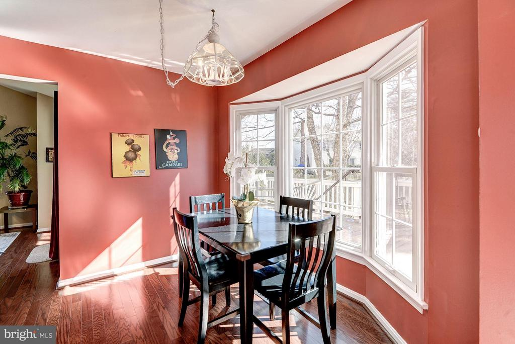 KITCHEN HAS SPACE FOR INFORMAL DINING - 12418 WENDELL HOLMES RD, HERNDON