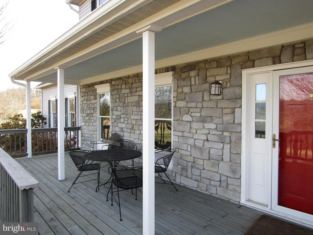 ENJOY THE VIEWS from your front porch! - 3406 FLINT HILL RD, ADAMSTOWN