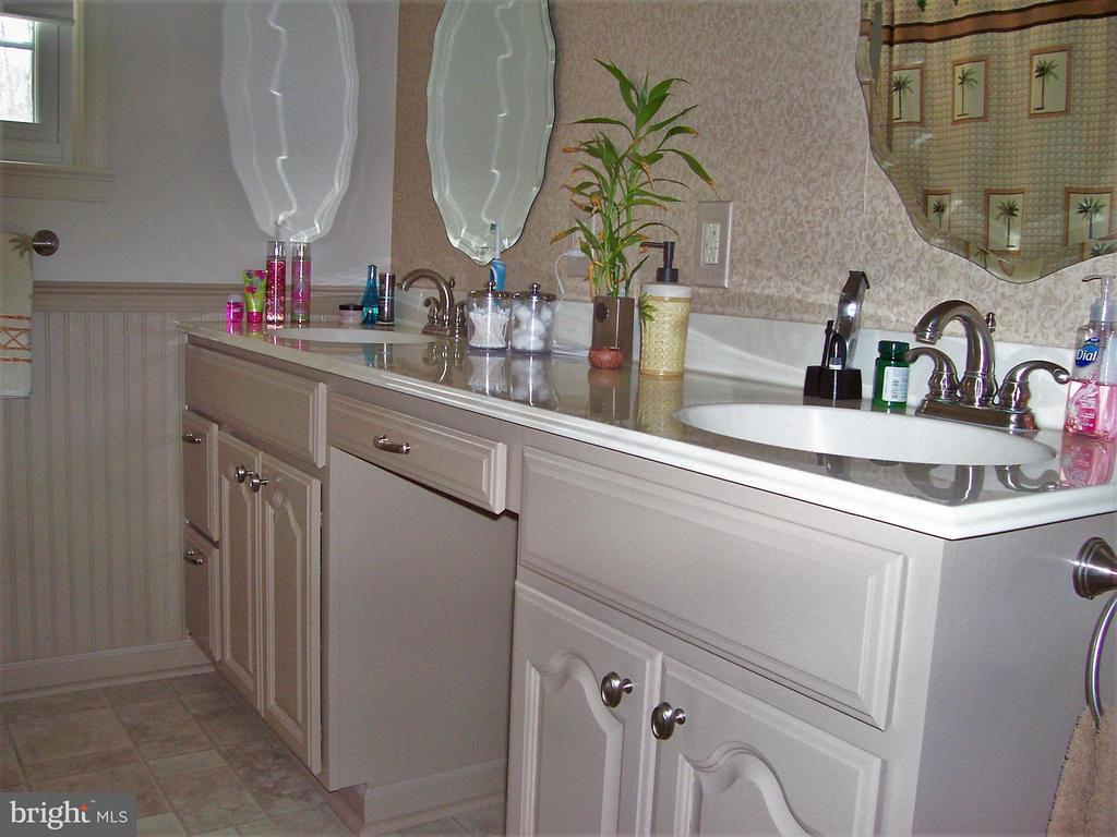 Bath (Master) Double vanities, wainscoting, - 330 CHAPEL GREEN RD, FREDERICKSBURG