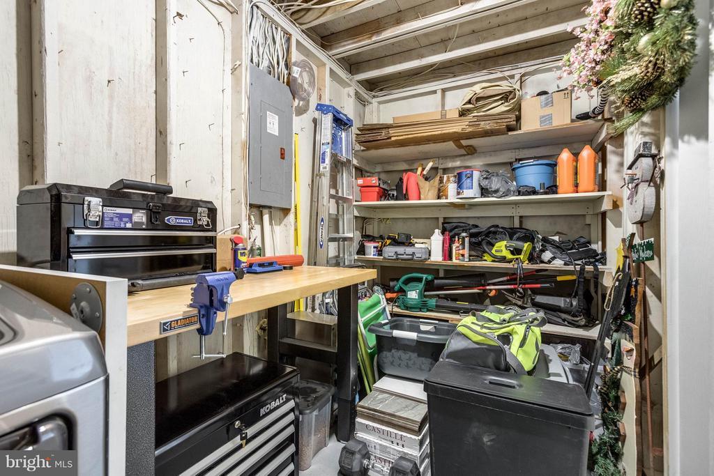 Basement storage utility area - 21 ROSEWOOD ST, FREDERICKSBURG