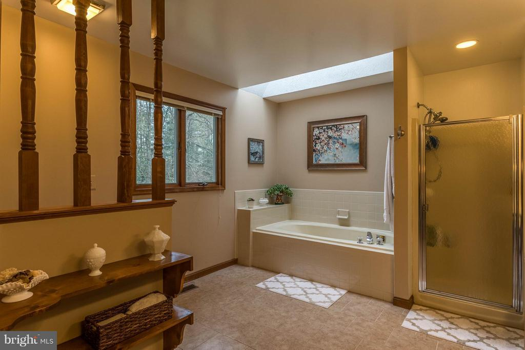 Master bath with Jacuzzi tub and separate shower - 53 KELLY WAY, STAFFORD