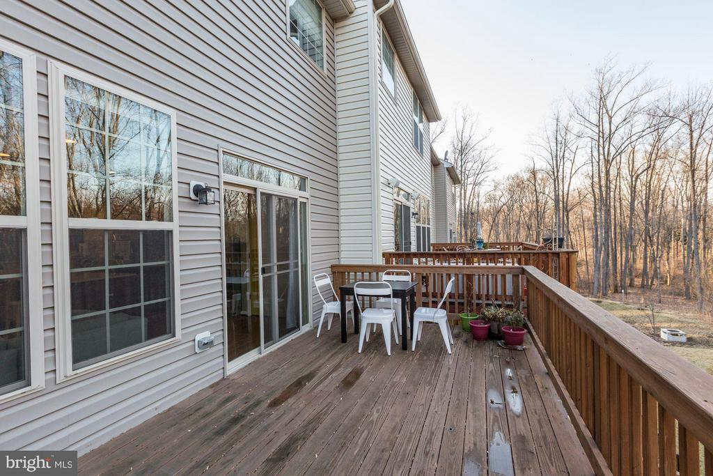 Deck - 15523 THISTLEBRIDGE CT, ROCKVILLE