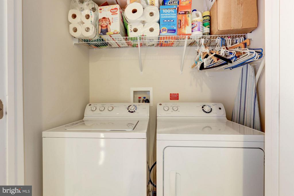 Upper Level Laundry - 15523 THISTLEBRIDGE CT, ROCKVILLE